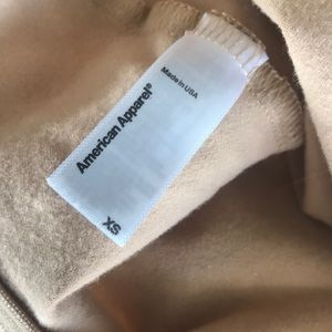 American Apparel Tops - American apparel nude bodysuit XS